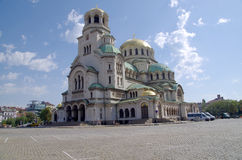 Alexander Nevski Memorial Church Sofia, Bulgaria, Europa Fotografie Stock Libere da Diritti