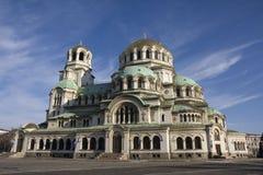 Alexander Nevsky Cathedral à Sofia Photo stock
