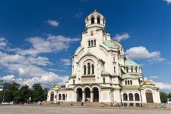 Alexander Nevsky Cathedral royalty-vrije stock foto