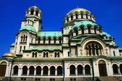 Alexander Nevsky Cathedral Stock Images