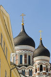 Alexander Nevsky Cathedral. The Russian Orthodox Alexander Nevsky Cathedral built in 1894–1900. Tallinn, Estonia Stock Images