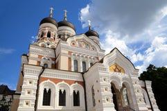 Alexander Nevsky Cathedral. Royaltyfri Bild