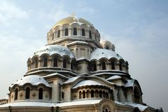 Alexander Nevsky cathedral Royalty Free Stock Photography