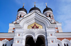 Alexander Nevsky Cathedral. Tallinn , Estonia Stock Photos