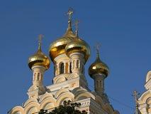 Alexander Nevsky Cathedral. Yalta. Crimea. Ukraine Royalty Free Stock Photography