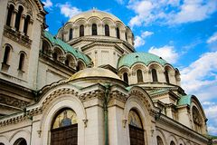 The Alexander Nevsky Cathedral Stock Photography
