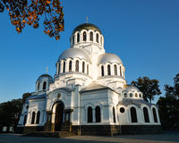Alexander Nevsky Cathedral en Kamianets-Podilskyi, Ucrania Imagenes de archivo