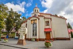 Alexander Nevsky Cathedral en Kamianets-Podilskyi, Ucrania Foto de archivo