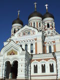 Alexander Nevsky Cathedral en Tallinn, Estland Fotografía de archivo