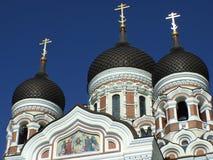 Alexander Nevsky Cathedral en Tallinn, Estland Imagen de archivo