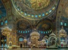 Alexander Nevsky Cathedral I royalty-vrije stock foto