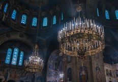 Alexander Nevsky Cathedral III royalty-vrije stock foto's