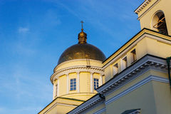 Alexander nevsky cathedral in izhevsk Royalty Free Stock Images