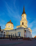 Alexander nevsky cathedral in izhevsk Stock Photography