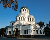 Alexander Nevsky Cathedral in kamianets-Podilskyi, de Oekraïne Stock Afbeeldingen