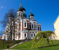 Alexander - Nevsky Cathedral. Located in Tallinn Royalty Free Stock Images