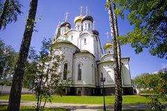 The Alexander Nevsky Cathedral, the Moscow diocese Royalty Free Stock Photos