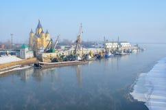 Alexander Nevsky Cathedral in Nizhny Novgorod royalty-vrije stock foto