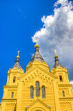 Alexander Nevsky Cathedral Nizhny Novgorod region Russia Stock Photography