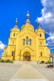 Alexander Nevsky Cathedral Nizhny Novgorod-Region Russland Stockfoto