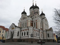 The Alexander Nevsky Cathedral Royalty Free Stock Photos