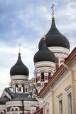Alexander Nevsky Cathedral. Old city, Tallinn, Estonia Stock Photo
