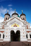 Alexander Nevsky Cathedral. Old city, Tallinn, Stock Image