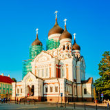 Alexander Nevsky Cathedral, An Orthodox Cathedral Church In Tall Royalty Free Stock Image