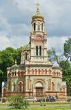 Alexander Nevsky Cathedral ortodoxo en Lodz, Imagenes de archivo