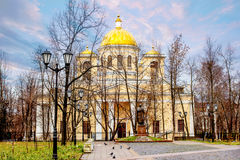 Alexander Nevsky Cathedral. Is Russia in Petrozavodsk Stock Images
