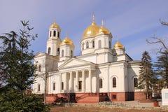 Alexander Nevsky Cathedral in Simferopol city Royalty Free Stock Photography