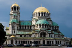 Alexander Nevsky Cathedral in Sofia Royalty Free Stock Images