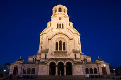 Alexander Nevsky cathedral in Sofia, Bulgaria Royalty Free Stock Photo
