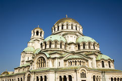 Alexander Nevsky Cathedral in Sofia, Bulgaria Stock Photo