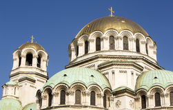 Alexander Nevsky Cathedral in Sofia, Bulgaria Royalty Free Stock Images