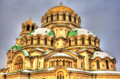 Alexander Nevsky Cathedral in Sofia Royalty Free Stock Image