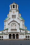 The Alexander Nevsky Cathedral in Sofia Stock Photo