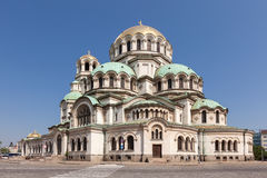 Alexander Nevsky Cathedral in Sofia, Bulgaria Royalty Free Stock Image
