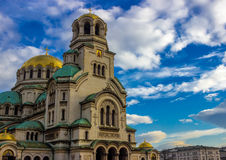 Alexander Nevsky Cathedral. Sofia Bulgaria Alexander Nevsky Cathedral Royalty Free Stock Photography
