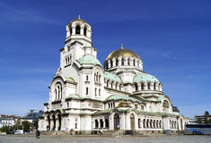 Alexander Nevsky cathedral in Sofia Stock Photo