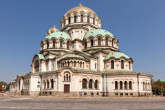 Alexander Nevsky Cathedral in Sofia, Bulgaria Stock Images