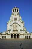Alexander Nevsky cathedral and square, Sofia Royalty Free Stock Photo