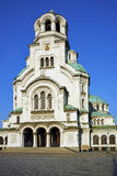Alexander Nevsky cathedral and square, Sofia Royalty Free Stock Image