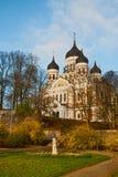 Alexander Nevsky Cathedral in Tallinn Stock Photo