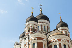 Alexander Nevsky Cathedral Tallinn Stock Images
