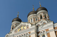 Alexander Nevsky Cathedral Tallinn Royalty Free Stock Photo