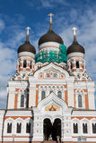 Alexander Nevsky Cathedral. Tallinn, Estonia Royalty Free Stock Image