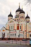 Alexander Nevsky Cathedral in Tallinn, Estonia Stock Images