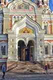 Alexander Nevsky Cathedral in Tallinn Royalty Free Stock Images