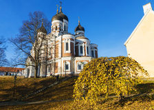 Alexander Nevsky Cathedral in Tallinn, Estonia Royalty Free Stock Image